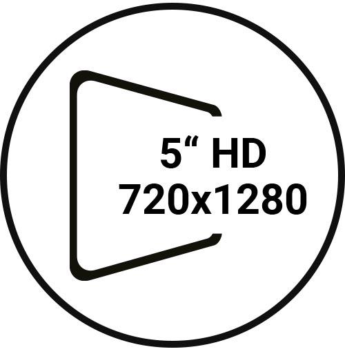 5in, 720x1280 HD