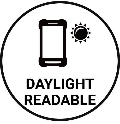 Daylight readable