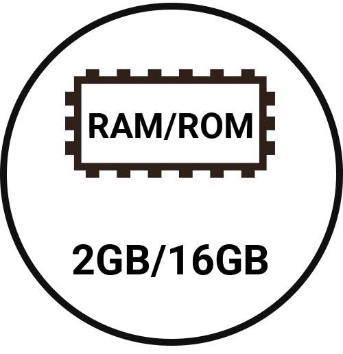 2GB/16GB