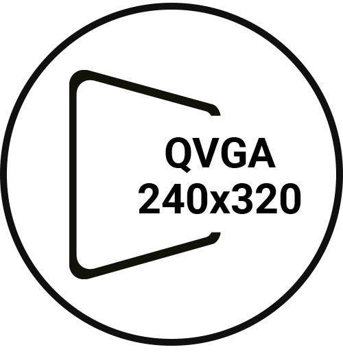 QVGA 240x320