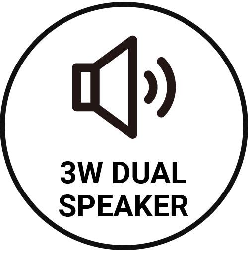 3W dual speaker