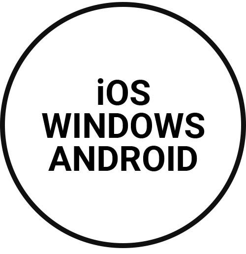 Ios, Windows, Android