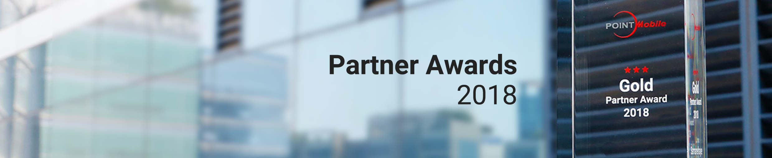 We are awarding our best performing partners of the year 2018
